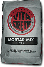Mortar Mix Type S
