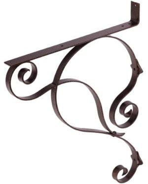 155 Iron Mailbox Bracket – Copper