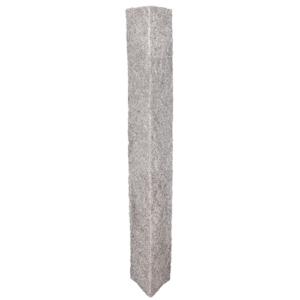 Granite Mailbox Post – Gray (4 Rock Sides)