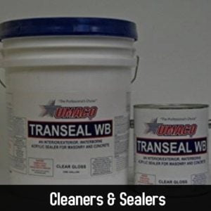 Cleaners & Sealers