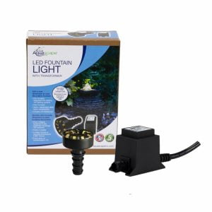 LED Fountain Light & Transformer