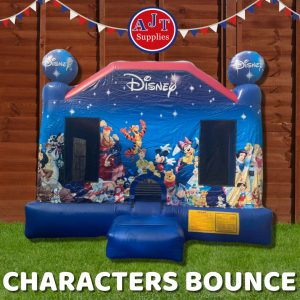 Characters Bounce House